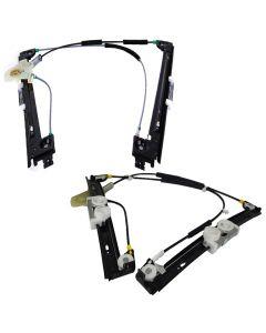 2PCS Power Window Lifter Regulator Front L+R for BMW 02-06 mini 51337039451