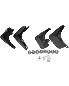 4PCS Mud Flaps Splash Guards Mudguards Front Rear for BMW F10 F07 82162155857