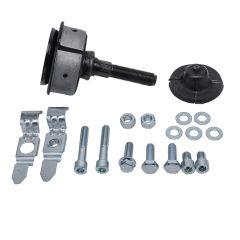 New Front Guide Rod Track Strut Mount Kit For Mercedes W126 300SE 350SD 300SEL
