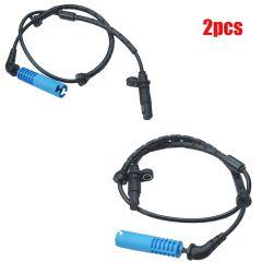 2x ABS Wheel Speed Sensor Rear Left & Right For BMW X5 E53 01-04 #34526756380
