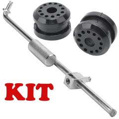 FOR Dodge Ram Truck 4X4 Transfer Case Shifter Linkage Rod & Bushings Kit