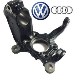 GENUINE OE Front Spindle Knuckle Right Passenger Side Fit VW Golf Jetta Audi A3