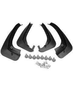 4 PCS  AUTOPA Mud Flap Splash Guard Front & Rear for BMW X3 F25 82162156538
