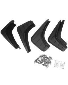 4 PCS  AUTOPA Mud Flap Splash Guard Front & Rear for Porsche Macan 14-17
