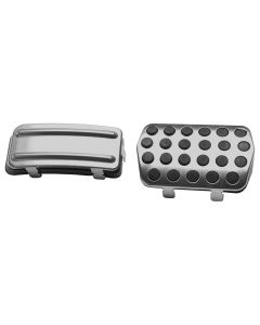 Set 2Pcs AT Stainless Gas Fuel+Brake Pedals Pads FOR Focus 2012-2015 Automatic