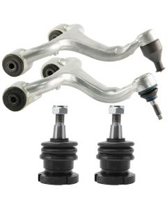 Front LH & RH Upper Control Arm W/ Lower Axle Ball Joint Kit for Mercedes W163