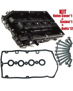 Engine Valve Cover Camshaft Rocker Cover FIT Chevrolet Cruze Sonic Aveo 55564395