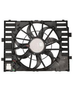 TOPAZ Radiator Cooling Fan Motor 600 Watts for Porsche Cayenne 11-15 95810606112